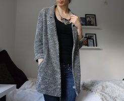 Oversized Boyfriend Blazer in Grau