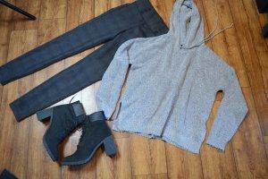 Oversized Kapuzen Sweater Gr. 40 Forever21