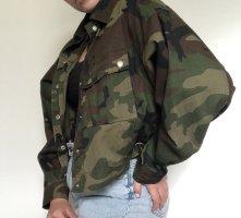 Oversized Military Jacke