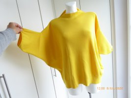 Oversized Pullover knalligen gelb Größe L *** N E U ***