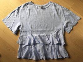 H&M Oversized Shirt azure