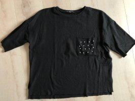 Zara Trafaluc Camisa holgada negro