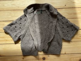 Benetton Coarse Knitted Jacket multicolored