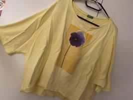 Benetton T-shirt multicolore coton
