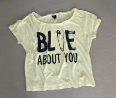 Anti Blue Camisa holgada multicolor