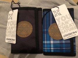OXBOW Geldbörse Portemonnaie NEU grau