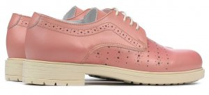 Oxfords pink leather