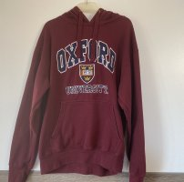oxford Oversized Sweater bordeaux-dark blue
