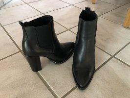 Oxmox Stiefelette schwarz Größe 39