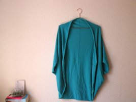Marie Lund Short Sleeve Knitted Jacket turquoise