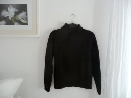 Brookshire Turtleneck Sweater brown wool