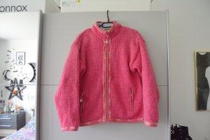 Pachamama Grobstrick Pullover Jacke Gefüttert fleece wolle