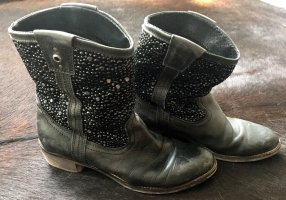Bullboxer Ankle Boots black leather