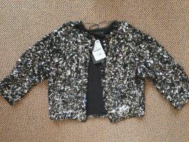 Pailletten Jacke Blazer von Zara ungetragen mit Etikett