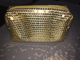 Pailletten Kosmetiktasche Gold