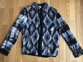 Pailletten Luxus Jacke Seide