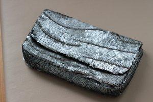 Pailletten Tasche Crossbody / Clutch