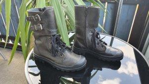 Paladium Stiefel schwarz, Größe 38