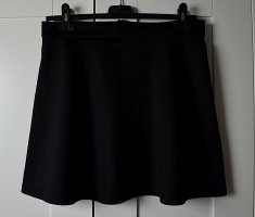 Pamela x Na-kd Circle Skirt black cotton