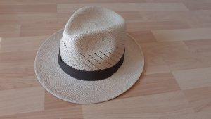 Barrancos Panama Hats Cappello da safari marrone chiaro-beige