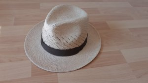 Barrancos Panama Hats Chapeau safari marron clair-beige