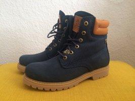Panama Jack Wool Boots, Nobuck Marino/Navy, Gr. 38, neu
