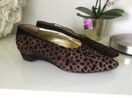 Pancaldi Loafers zwart-bruin