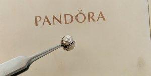 Pandora Bracelet en perles multicolore