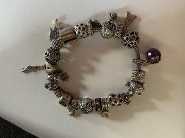 Pandora Charm Bracelet silver-colored