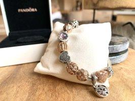 Pandora Pulsera color plata-color rosa dorado