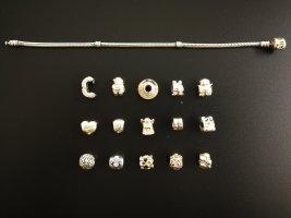 Pandora Silver Bracelet silver-colored