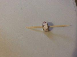 Pandora Zilveren armband wit-paars