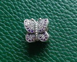 Pandora Charm silver-colored-lilac
