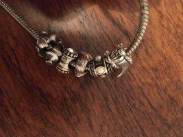 Pandora Kette mit 6 Charms Silber 925