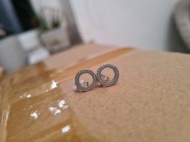 Pandora Ohrstecker Ohrringe Charm Silber