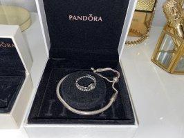 Pandora Princess-Ring und Armband für Charms
