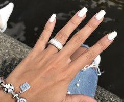 Pandora Silver Ring silver-colored-natural white