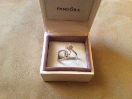 Pandora Anillo de plata color plata plata verdadero