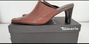 Tamaris Mule à talon multicolore cuir