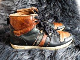 Pantofola d'Oro High Sneaker braun schwarz Gr. 38
