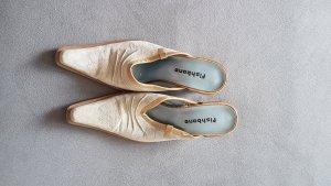 Fishbone Sandalias con tacón gris claro