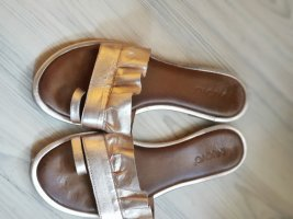 Inuovo Toe-Post sandals gold-colored