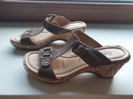 Gabor Comfort Sandalias con tacón marrón