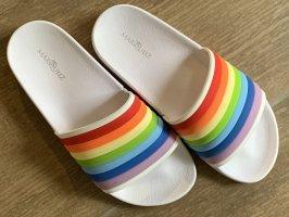 Zuecos multicolor