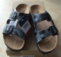 Pantoletten von Hilfiger Tommy Jeans - Gr. 40