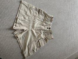 H&M Shorts beige claro