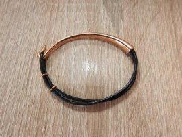 Bracelet de bras rosé métal
