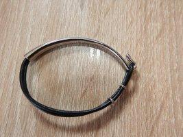 Papillon Bracelet de bras noir métal