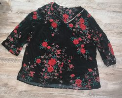 Paprika Bluse Tunika Blumen Größe 48 50