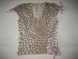 paraphrase bluse leoprint pin up gr xs 34